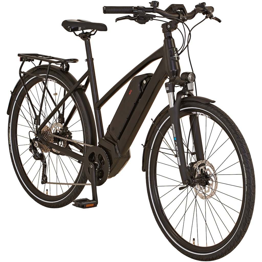 "Prophete E-Bike »ENTDECKER Trekking E-Bike 28""«, 10 Gang, Shimano, Shimano Deore, Mittelmotor 250 W"