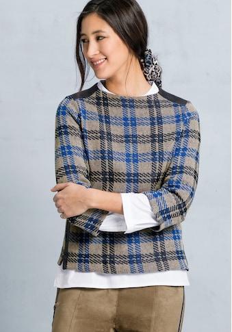 bianca Sweater »KYLIN«, im angesagten farbigen Karo-Look kaufen