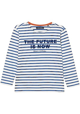 Marc O'Polo Junior Langarmshirt »THE FUTURE IS NOW« kaufen