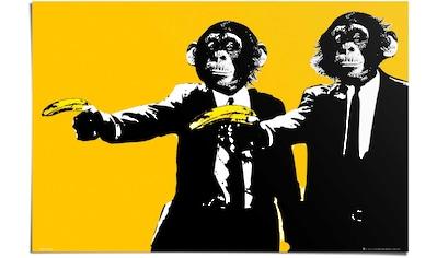 Reinders! Poster »Monkey Bananas«, (1 St.) kaufen