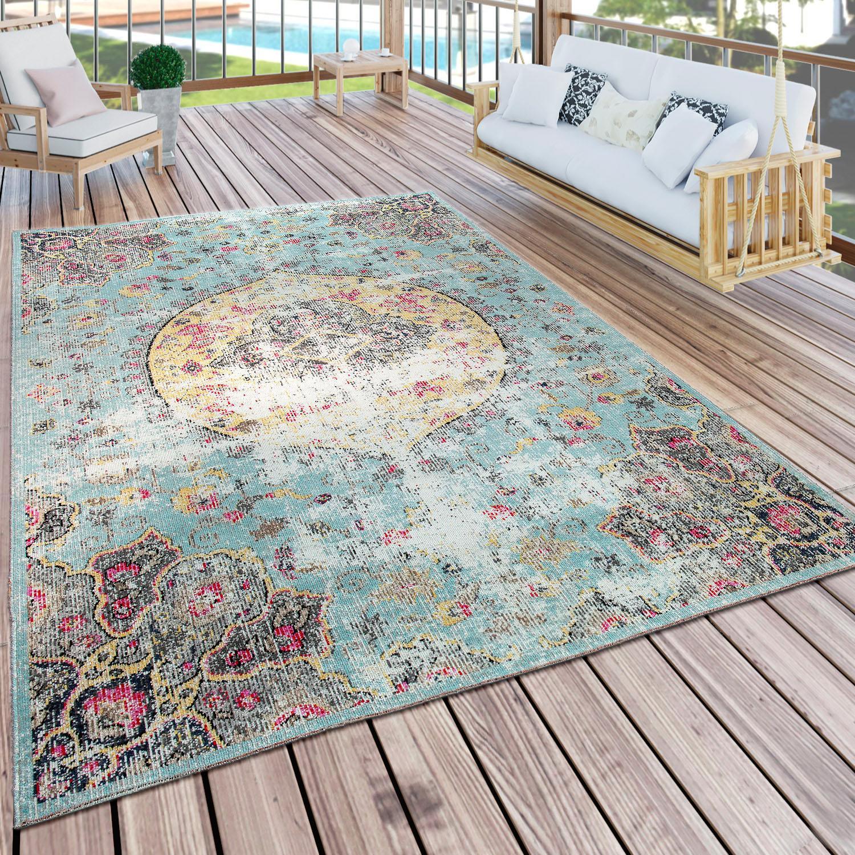 Teppich Artigo 401 Paco Home rund Höhe 11 mm maschinell gewebt