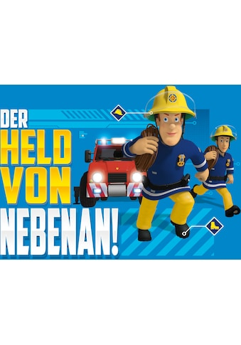 Bönninghoff Leinwandbild »Keilrahmen Feuerwehrmann Sam ca.40x60 cm«, (1 St.) kaufen
