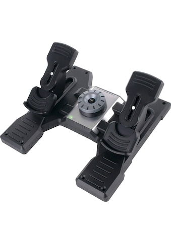 Logitech G Gaming-Adapter »Logitech G Saitek Pro Flight Rudder Pedals«, 1,8 cm kaufen