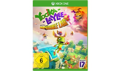 Xbox One Spiel »YOOKA-LAYLEE AND THE IMPOSSIBLE LAIR«, Xbox One kaufen
