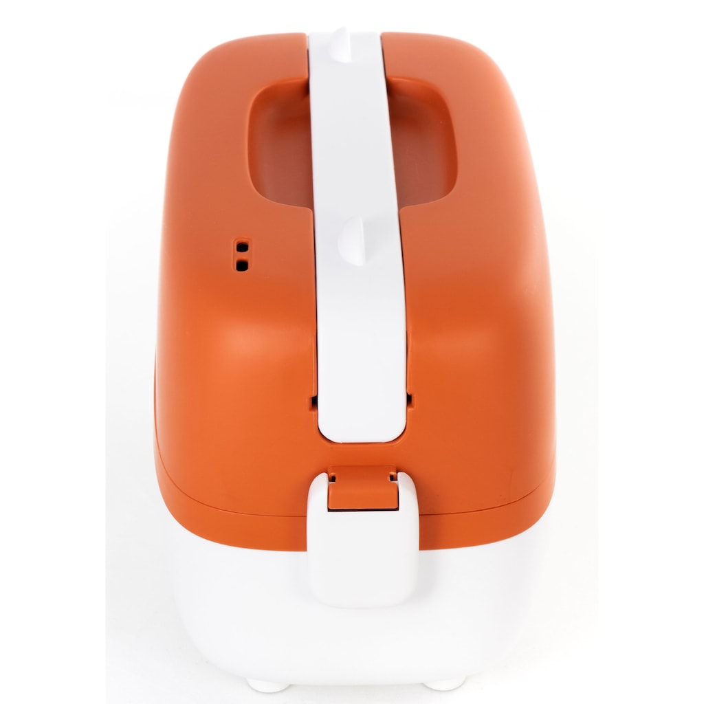 Miji Dampfgarer »Cookingbox One Orange/white WM024«, 250 W