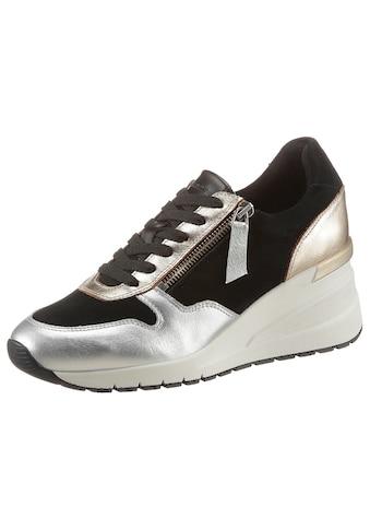Tamaris Wedgesneaker, mit praktischem Außenreißverschluss kaufen