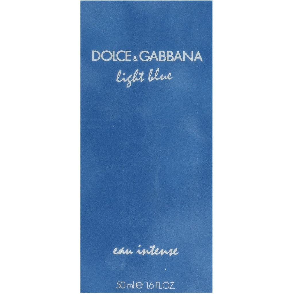 DOLCE & GABBANA Eau de Parfum »Light Blue Intense Pour Femme«