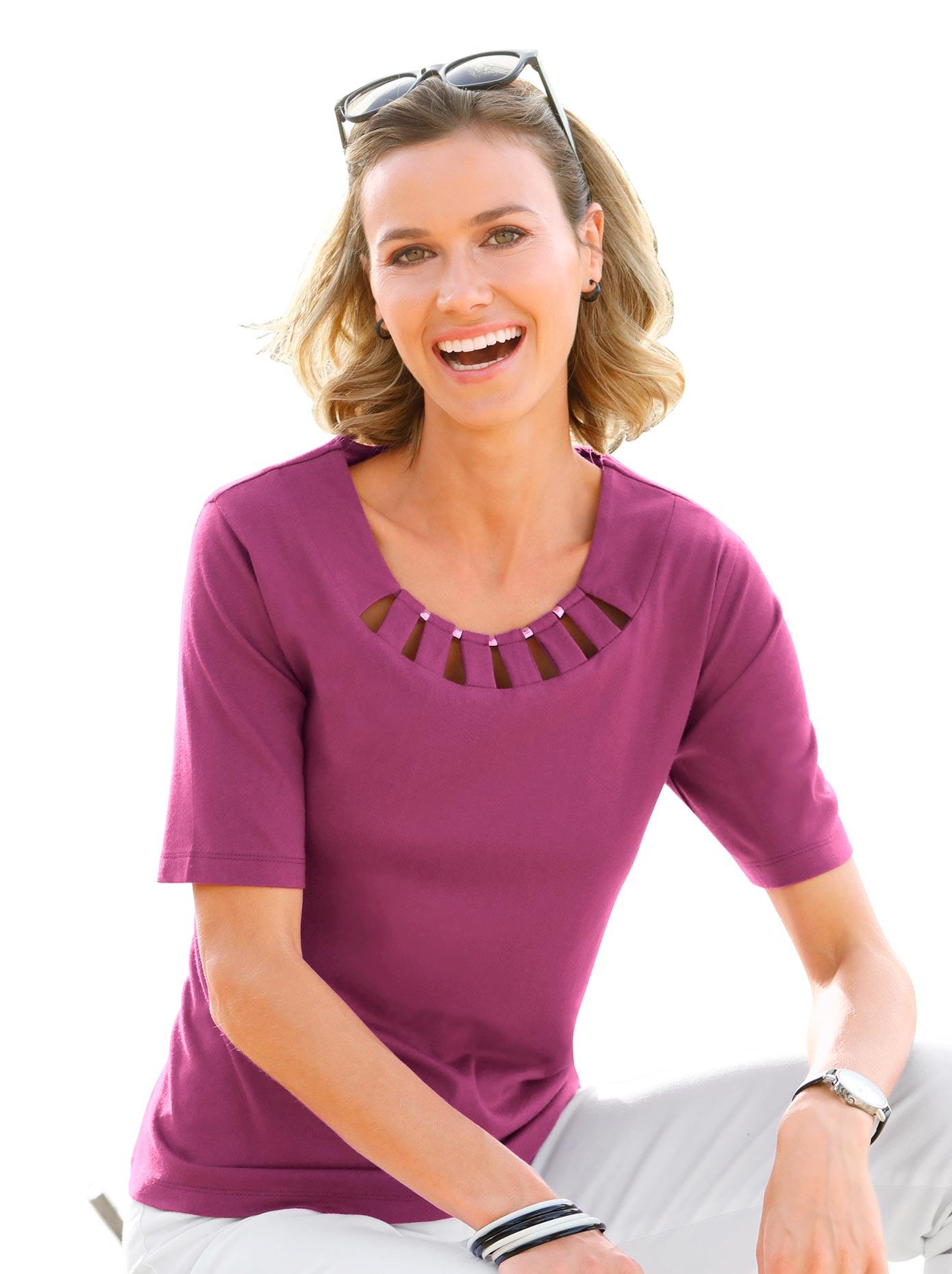 Casual Looks Shirt in hautverträglicher PURE WEAR-Qualität Damenmode/Inspiration/Klassische Mode/Shirts & Sweats/T-Shirts