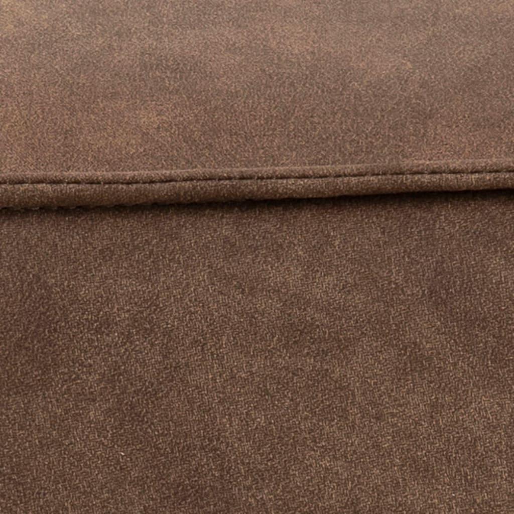 andas Pouf »Karlebo«, in zwei verschiedenen Bezugsqualitäten erhältlich, Gesamtmaße (B/T/) ca. 60/60 cm, Höhe 34 cm, in verschiedenen Farbvarianten
