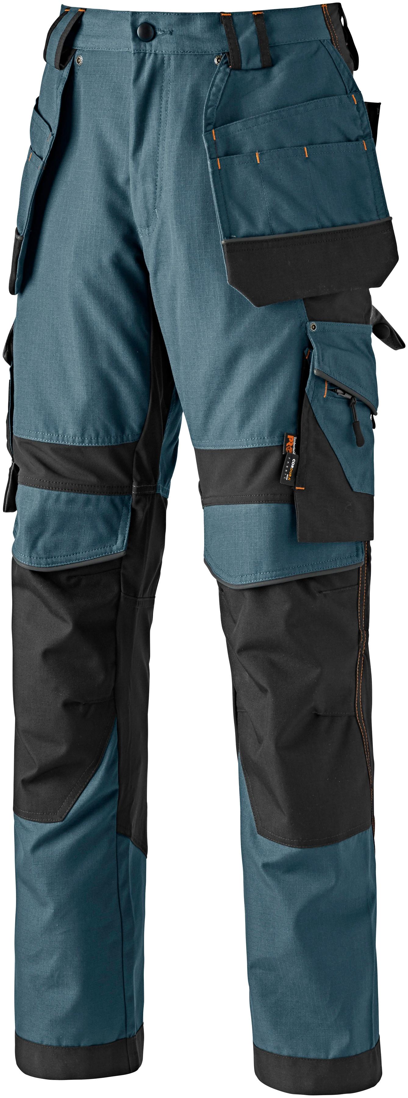 Timberland Pro Arbeitshose Interax, mit recycelten Materialien und Bio-Baumwolle blau Herren Arbeitshosen Arbeits- Berufsbekleidung