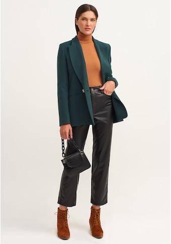 OXXO Lederhose, mit Taschen kaufen