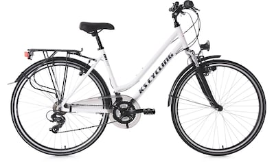 KS Cycling Trekkingrad »Metropolis«, 21 Gang, Shimano, Tourney Schaltwerk,... kaufen