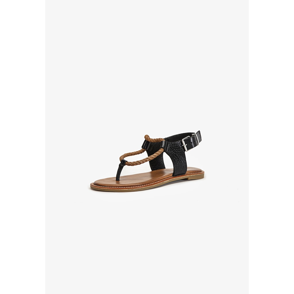 INUOVO Zehentrenner »Leder/Textil«