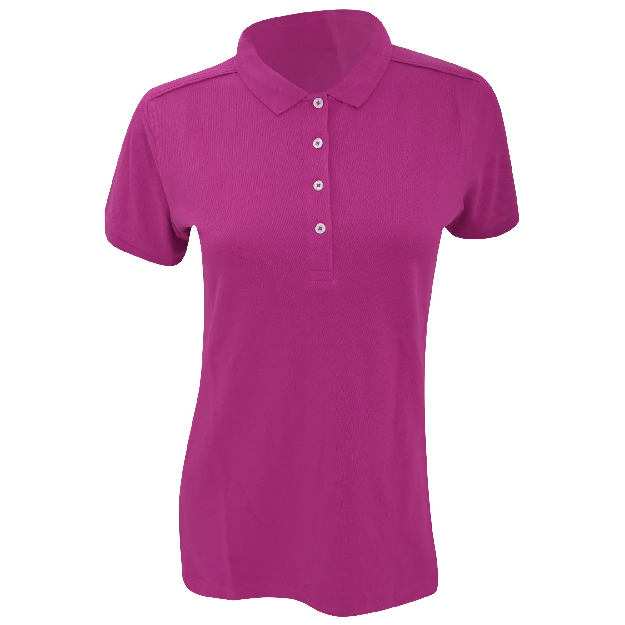 russell -  Poloshirt Damen Stretch Polo-Shirt Kurzarm