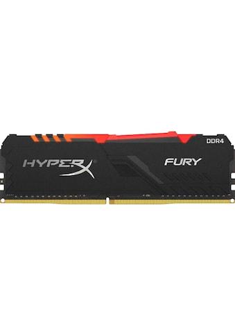 HyperX »HyperX Fury RGB DDR4 3200MHz 16GB Black« PC - Arbeitsspeicher kaufen