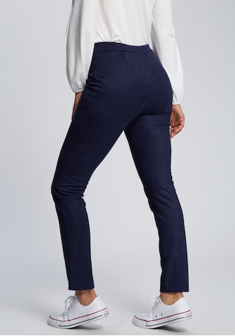 Boysen's Jeggings, in Velourslederoptik kaufen