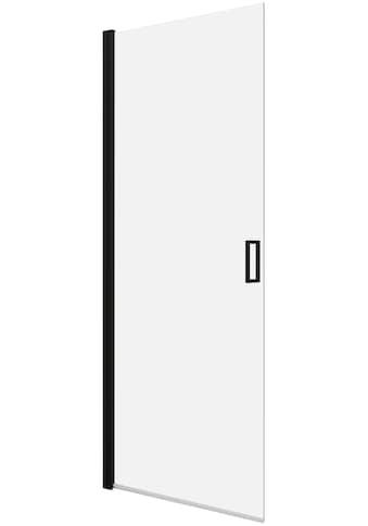 Schwingtür »ELITE«, Schwenkttür für Duschen mit Alu - Profilen in schwarz matt kaufen