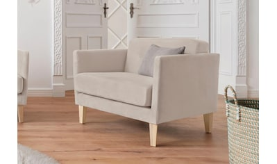 andas Sessel »Raadal«, in geradliniger skandinavischer Optik, mit Knopfheftung, Design... kaufen