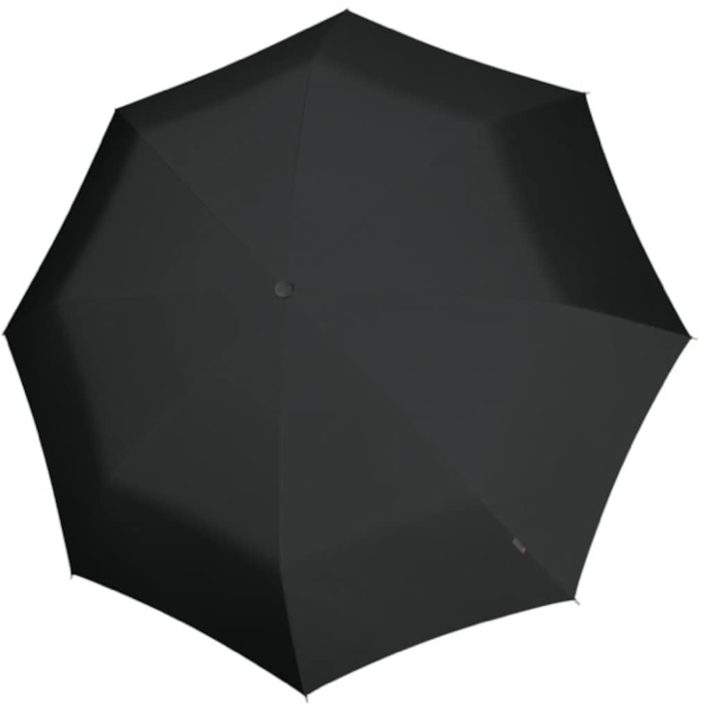 Knirps® Partnerschirm »U.900 Ultra Light XXL Manual, Uni Black«, ultraleicht