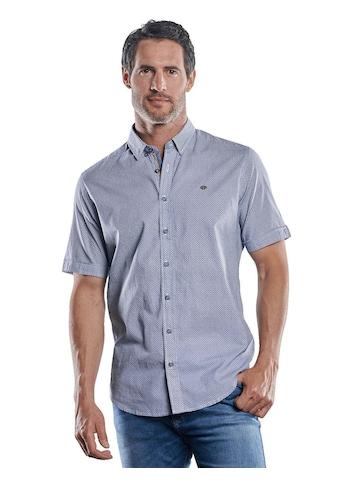 Engbers Kurzarmhemd mit Stretch-Anteil und dezenten Kontrastdetails kaufen