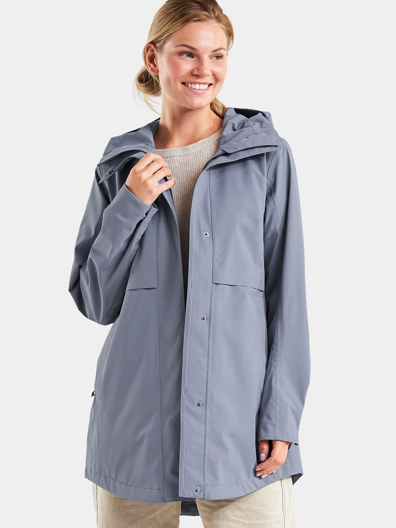 didriksons -  Parka EDITH WNS PARKA 3, in tollem Design