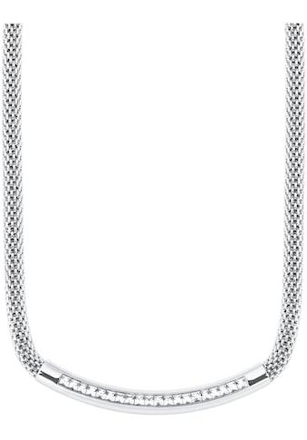 s.Oliver Edelstahlkette »2027582«, mit Kristallen kaufen
