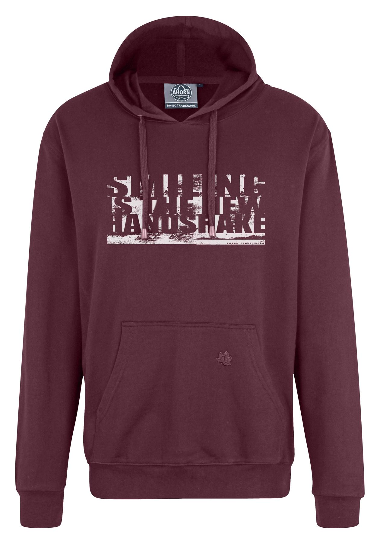 ahorn sportswear -  Hoodie, mit Statement-Print