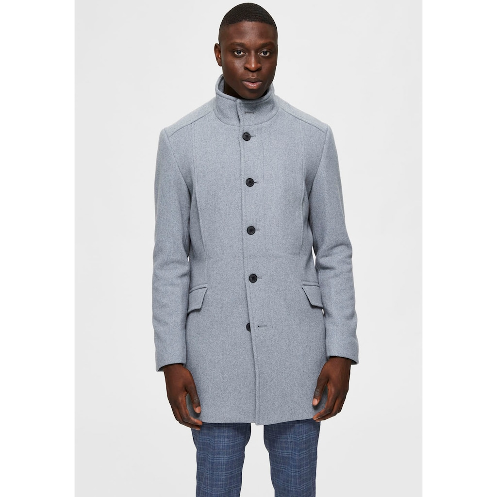 SELECTED HOMME Wollmantel »MORRISON WOOL COAT«