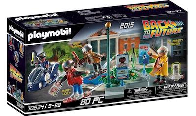 Playmobil® Konstruktions-Spielset »Back to the Future Part II Verfolgung mit... kaufen