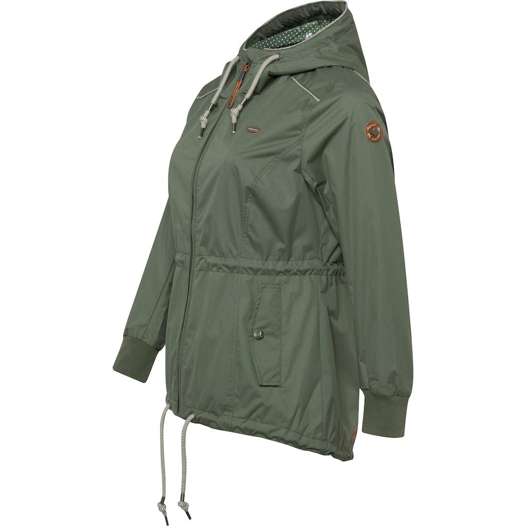 Ragwear Plus Funktionsjacke »DANKA PLUS«, Waterproof Fabric