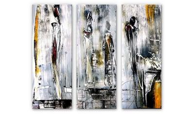 Wall-Art Mehrteilige Bilder »Erfolgsstufen Niksic (3-teilig)«, (Set, 3 St.) kaufen
