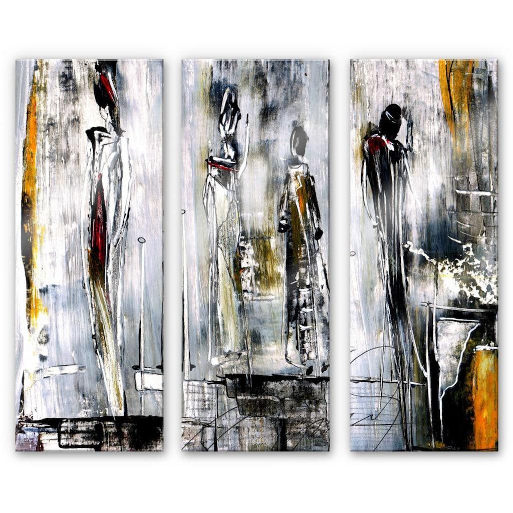 Wall-Art Mehrteilige Bilder »Erfolgsstufen Niksic (3-teilig)«, (Set, 3 St.)