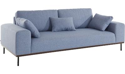 elbgestoeber 3-Sitzer »Elbpier«, mit hochwertigem, gebeiztem Holzrahmen; incl. 3... kaufen