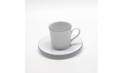 Retsch Arzberg Espressotasse »Heike Blaurand«, (Set, 12 tlg., 6 Espresso Obertasse-6... kaufen