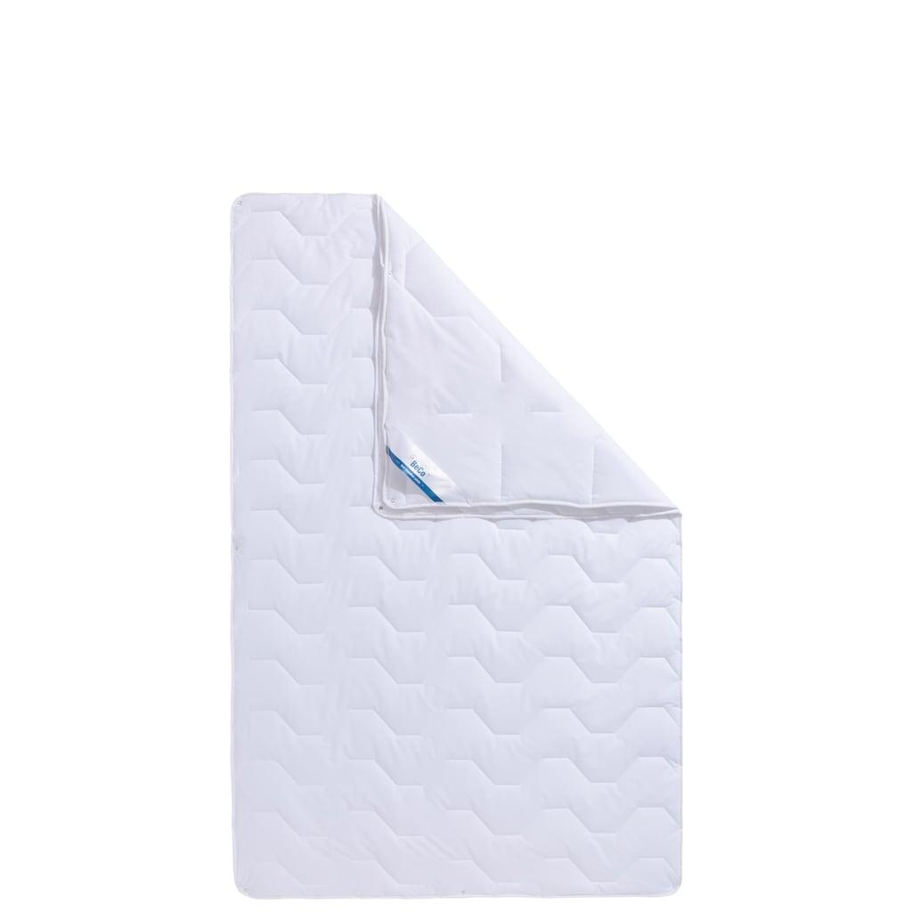 Beco Microfaserbettdecke »Tencel Soft«, 4-Jahreszeiten, Bezug 100% Baumwolle, (1 St.)
