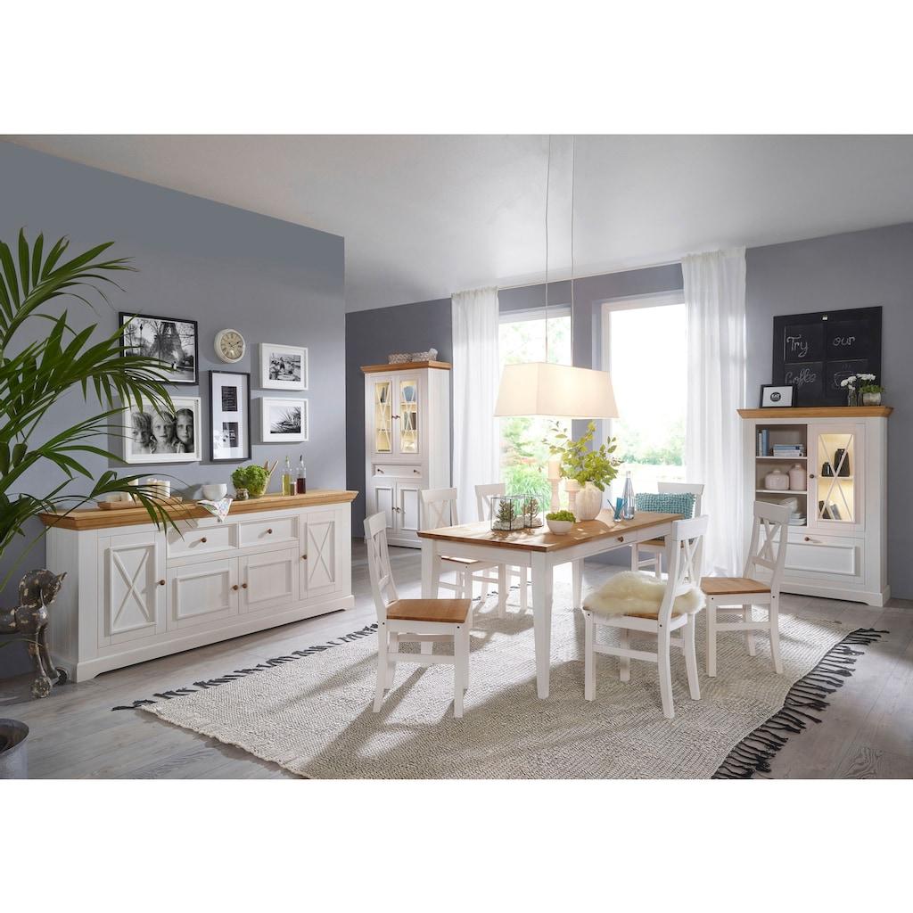 Premium collection by Home affaire Stuhl »Marissa«, Landhaus-Design pur