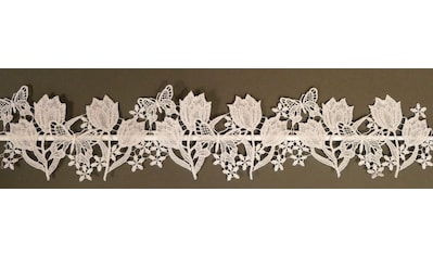 Stickereien Plauen Scheibengardine »Tulpen« kaufen