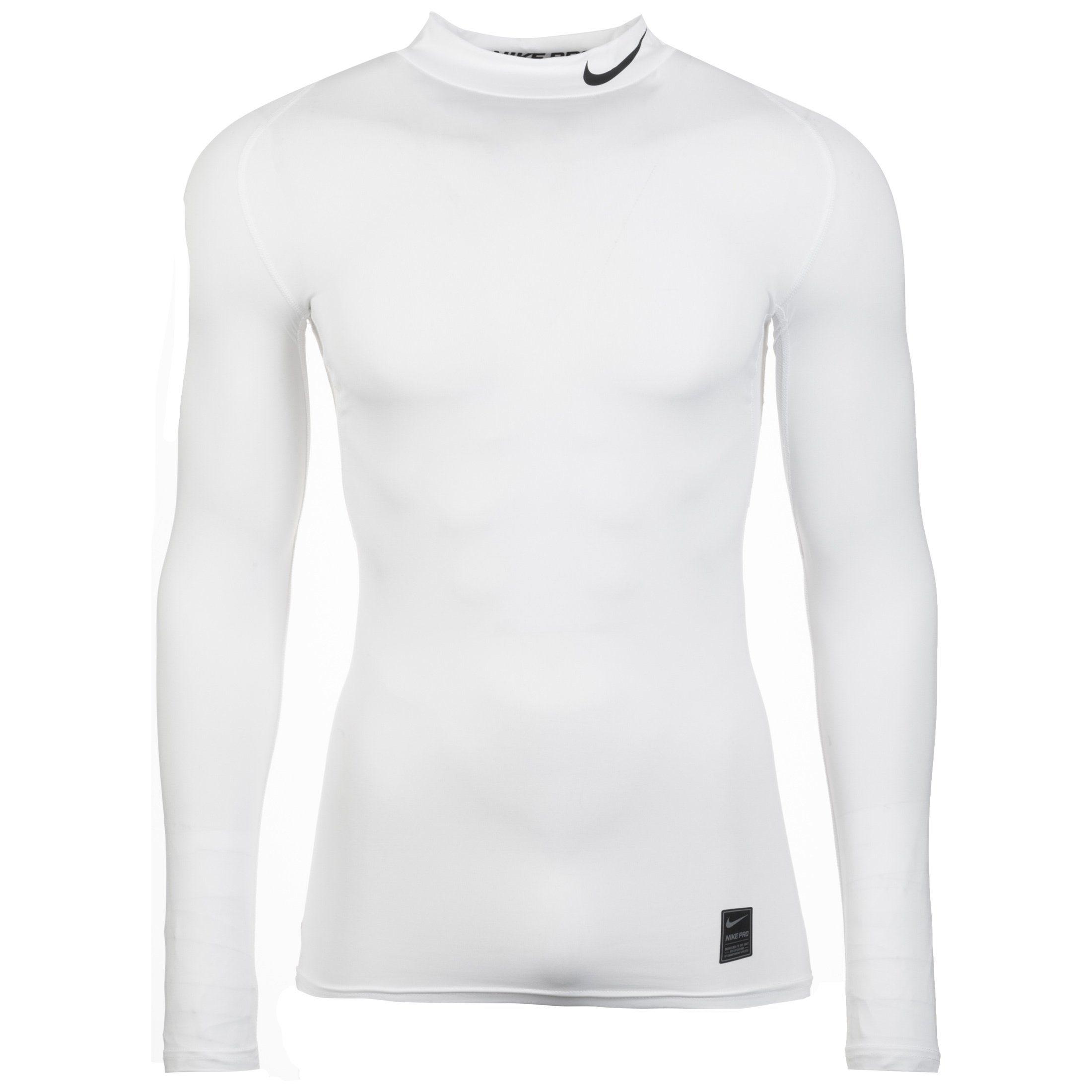 Nike Longsleeve Pro | Bekleidung > Pullover > Fleecepullover | Weiß | Ab | Nike