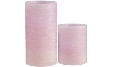 Pauleen LED-Kerze »Cosy Lilac«, Wachskerze Timer Flieder kaufen