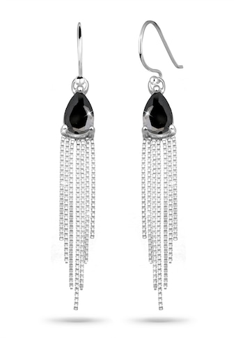 Elli Paar Ohrhänger »Tropfen Ketten Zirkonia Elegant 925 Silber« kaufen