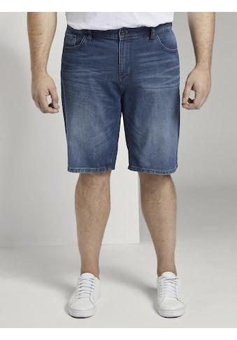 TOM TAILOR Men Plus Jeansshorts »Josh Regular Slim Denim Shorts« kaufen