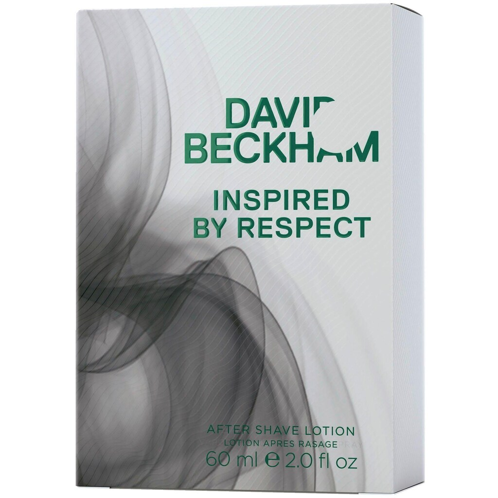 DAVID BECKHAM After Shave Lotion »Inspired by Respect«