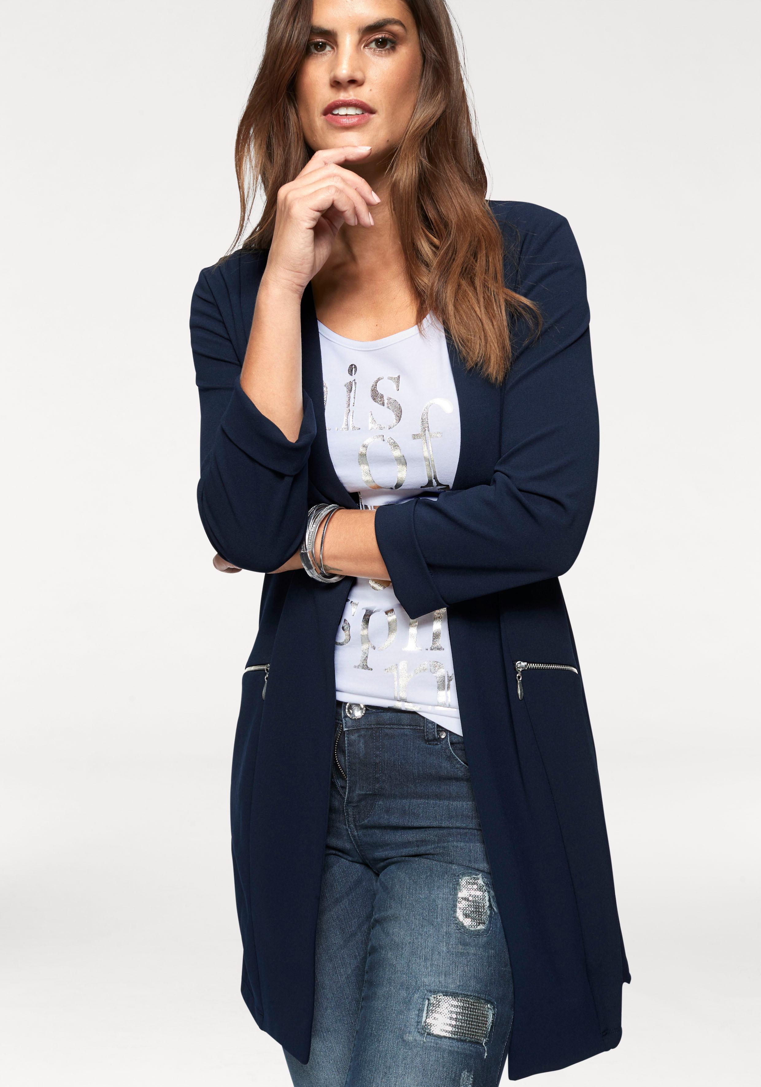 Laura Scott Longblazer | Bekleidung > Blazer > Longblazer | laura scott