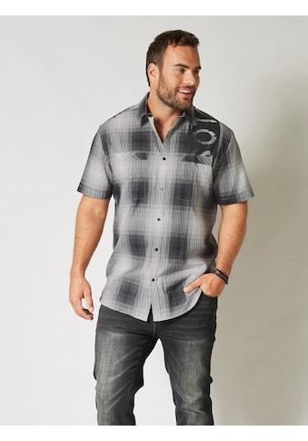 Men Plus by HAPPYsize Kurzarmhemd mit zwei Brusttaschen kaufen