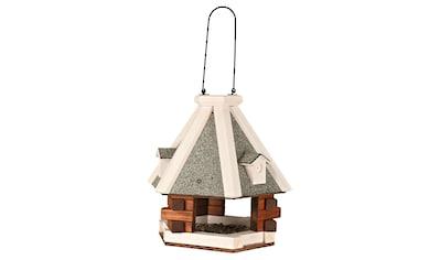 TRIXIE Vogelhaus »Pyramide«, grau/weiß, zum Hängen, B/T/H: 36/36/35 cm kaufen