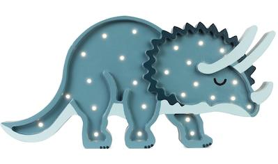 little lights LED Tischleuchte »Dino Triceratops«, LED-Modul, 1 St., Warmweiß, mit... kaufen