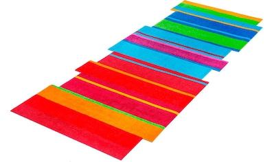 wash+dry by Kleen-Tex Läufer »Dancing Steps«, stufenförmig, 9 mm Höhe kaufen