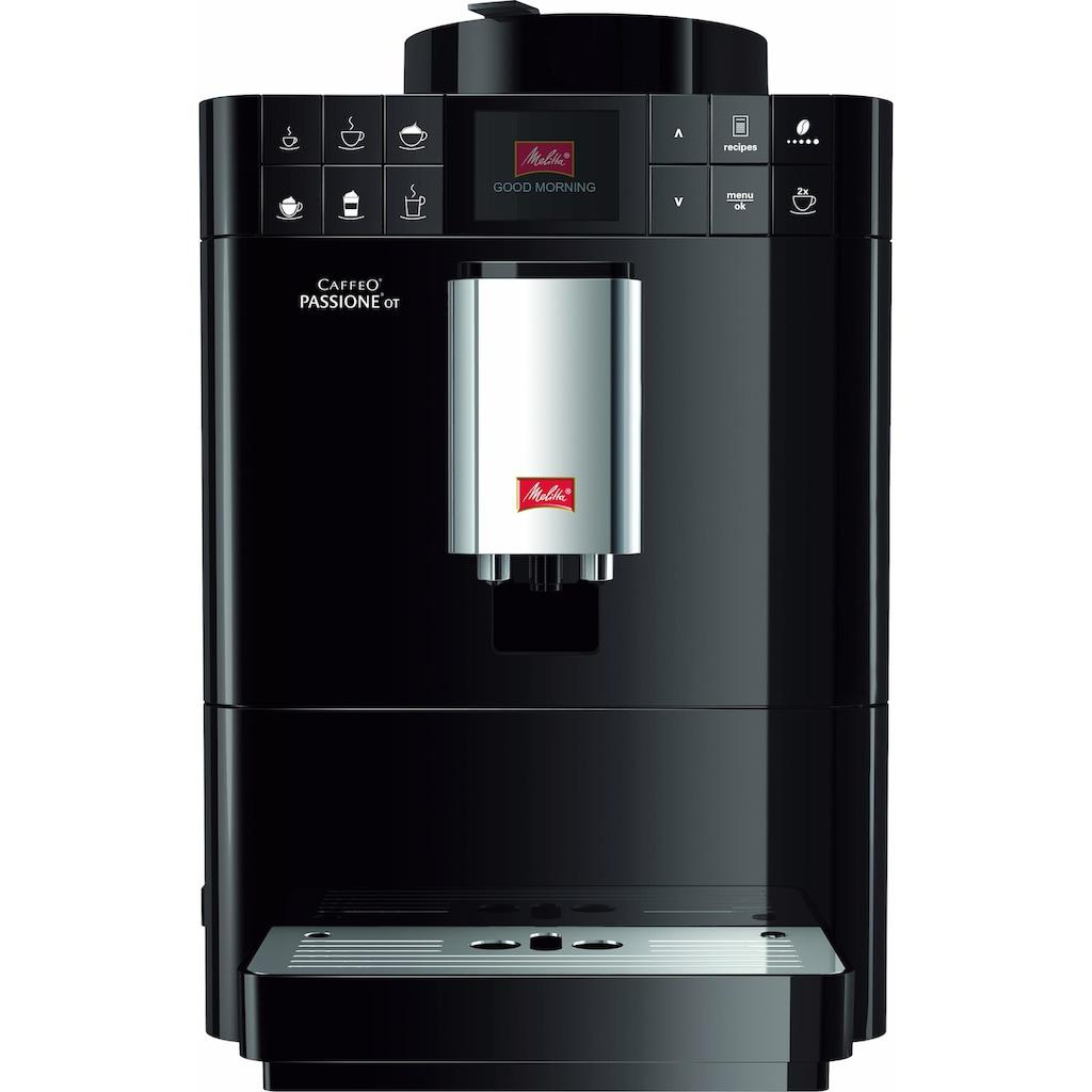 Melitta Kaffeevollautomat Caffeo® Passione® OT F53/1-102, 1,2l Tank, Kegelmahlwerk