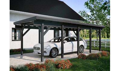 Kiehn-Holz Einzelcarport »KH 320 / KH 321«, Holz, 275 cm, anthrazit, Stahl-Dach,... kaufen