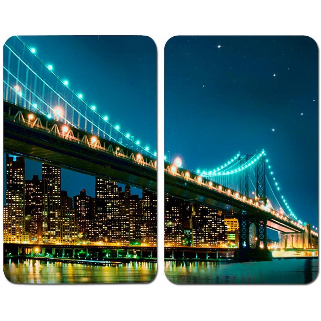 WENKO Herd-Abdeckplatte »Brooklyn Bridge«, kratzfest